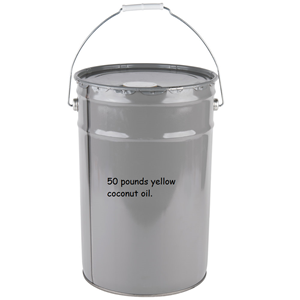 Image de 70050 - Yellow coconut popping oil 50 LBS