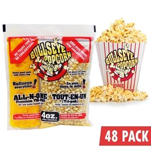 Image de Boîte de 48 sacs prémélangés de popcorn de 4 onces